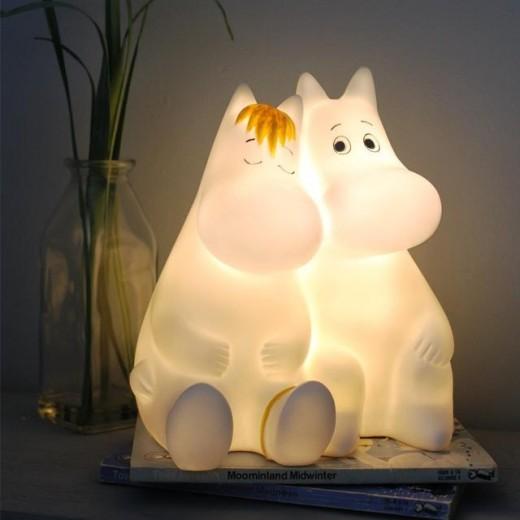 Disaster Designs Lampe Moomin and Snorkfrøkenen Forventes i 2021-318
