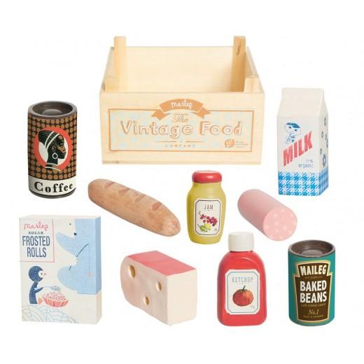maileg Vintage Food kolonial kasse Forventet på lager i november-02