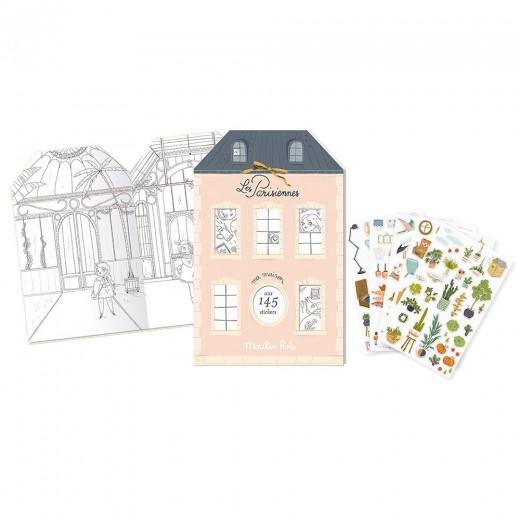 Moulin Roty Klistermærkebog Paris-31