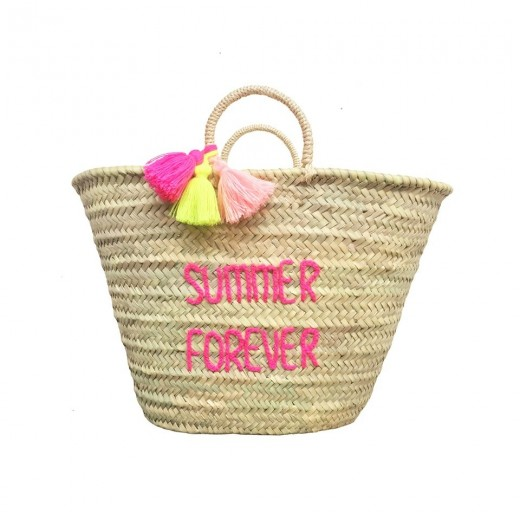 ROSE IN APRIL POMPON BASKET SUMMER FOREVER adult-32