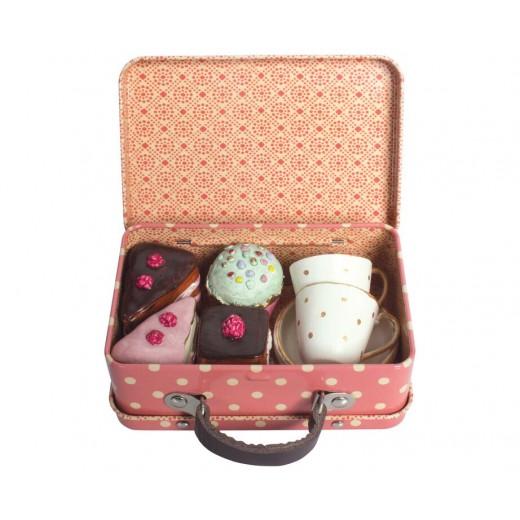 maileg Suitcase med udstyr og kager-31