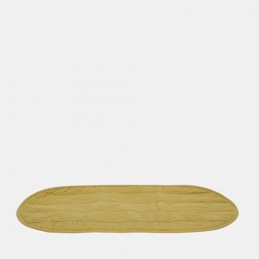 Olli Ella Bomuldsunderlag økologisk til Changing Basket mustard-014