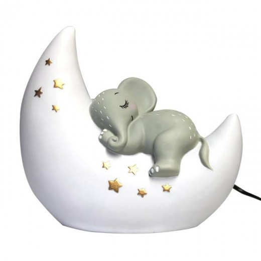 Disaster Designs Lampe Cute Elephant and Moon-07