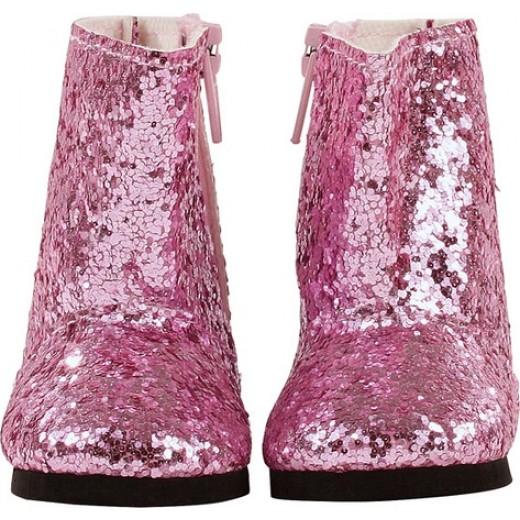 Götz Bootes glittery pink 42-50 cm-31