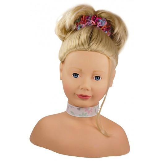 Götz styling head blond hair-31