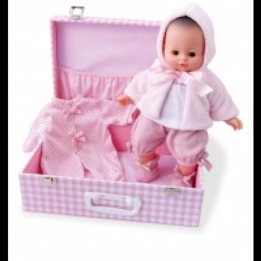 Petitcollin Dukke My Baby Love i kuffert 36 cm-32