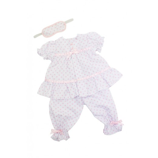 Bonnie and Pearl Dukketøj Pyjamassæt 46-50 cm-311