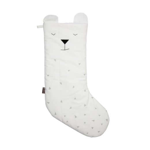 FABELAB Christmas Stocking Polar Bear white-01