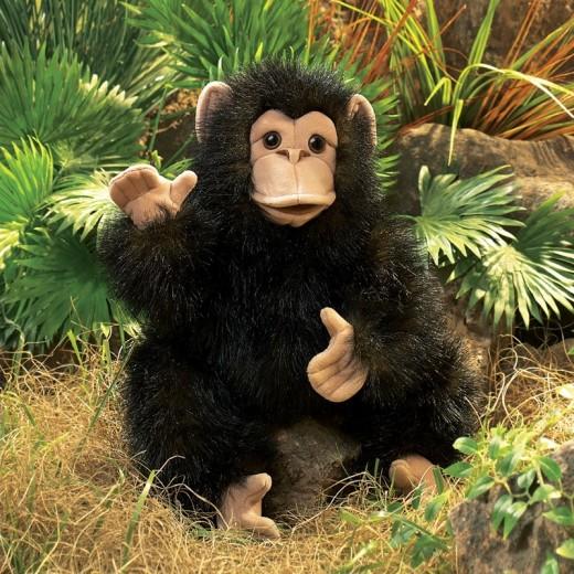 Folkmanis Chimpanseunge-33