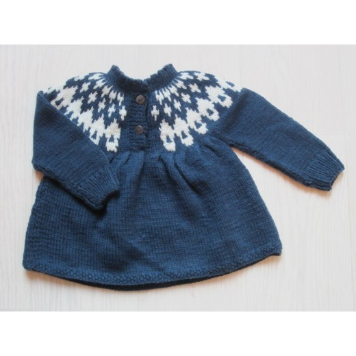 Shirley Bredal Icelandic sweater navy-31