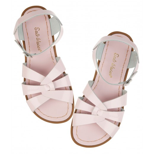 Salt-Water Original sandal shiny pink adult-08