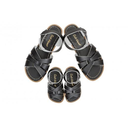 Salt-Water Original sandal black barn-029