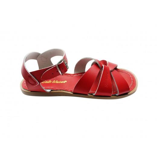 Salt-Water Original sandal red barn-024