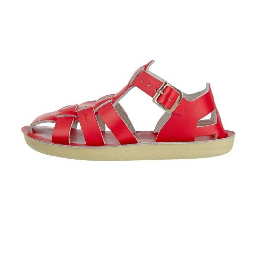 Salt-Water Shark sandal red-04