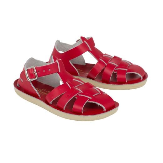 Salt-Water Shark sandal red-34