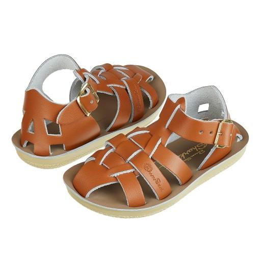 Salt-Water Shark sandal tan-312