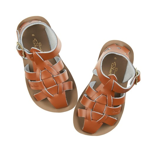 Salt-Water Shark sandal tan-012