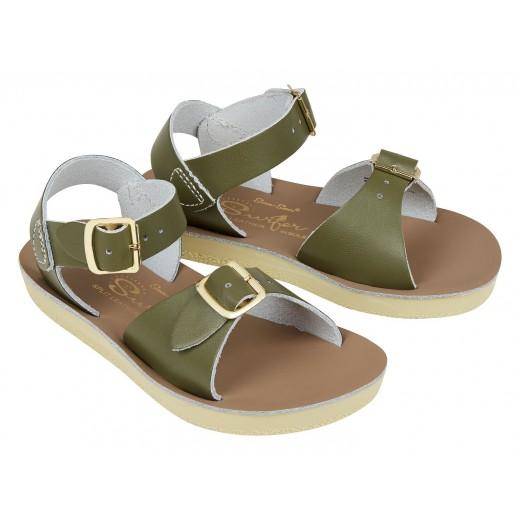 Salt-Water Surfer sandal olive-317