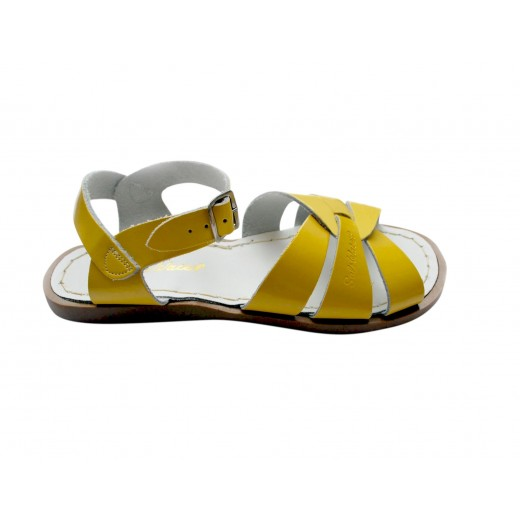 Salt-Water Original sandal shiny yellow adult-010