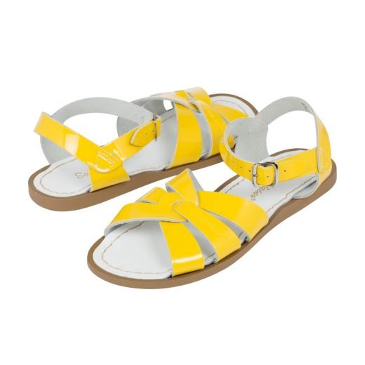 Salt-Water Original sandal shiny yellow adult-310
