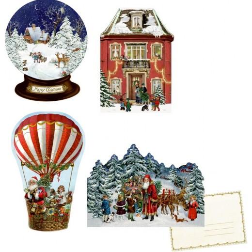 SpiegelburgJulekalenderMiniNostalgiskJulHotAirBalloonvintagedesign-014