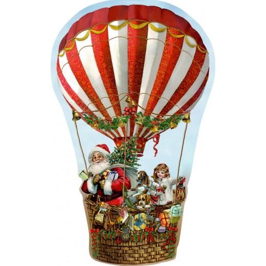 Spiegelburg Julekalender Festive Hot Air Balloon vintage design-36