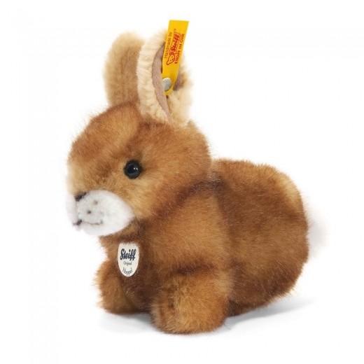 Steiff Kanin Hoppel Rabbit brown tipped-33