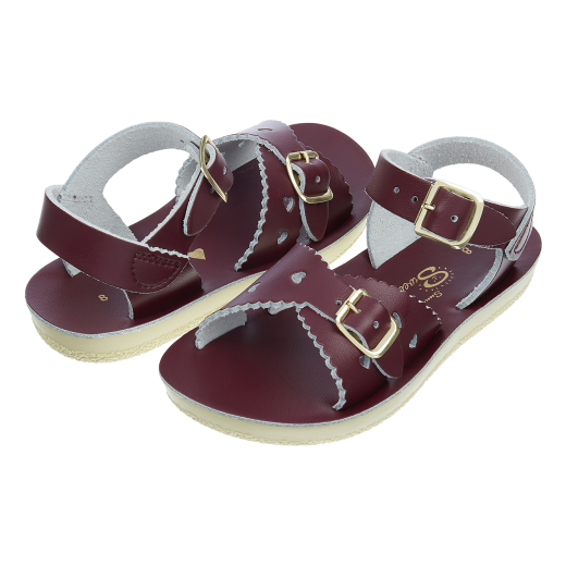 Salt-Water Sweetheart sandal claret-32