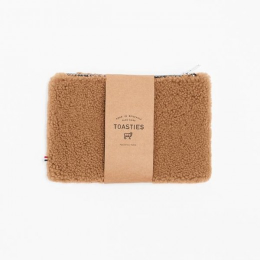 TOASTIES Pouch camel-35