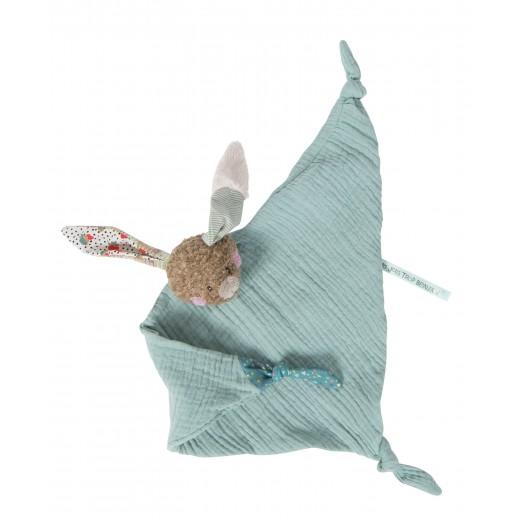 Moulin Roty Nulleklud Kanin muslin blue-32