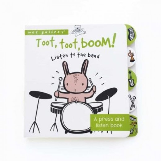 wee gallery Sound Book Toot, Toot, Boom! Listen to the band-32