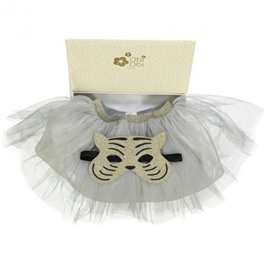 Obi Obi TUTU with mask box grå-37