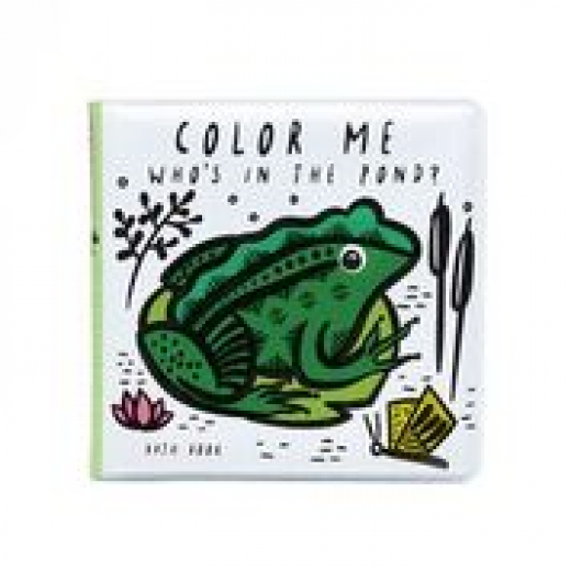 wee gallery Bath Book Colour Me Pond-34