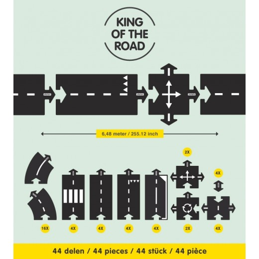 waytoplay King of the road 44 pieces set-06