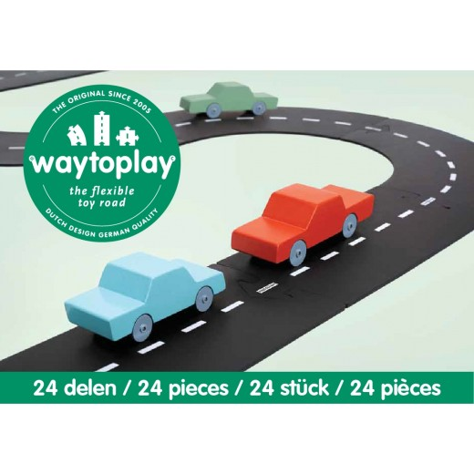 waytoplay Highway 24 pieces set-34