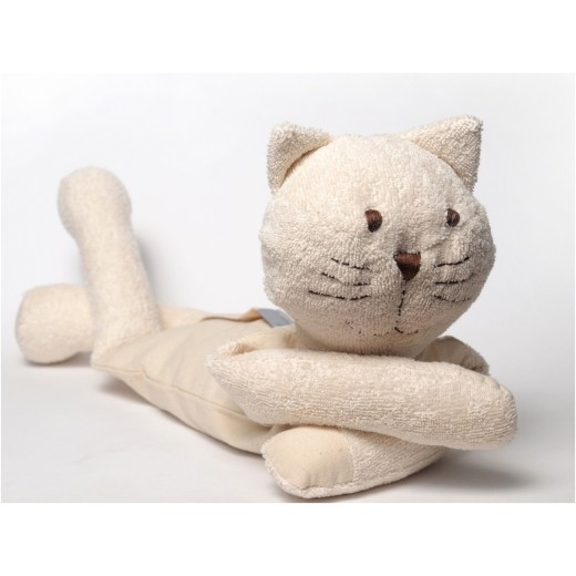 MinMin Copenhagen Cat white wellness toy-32