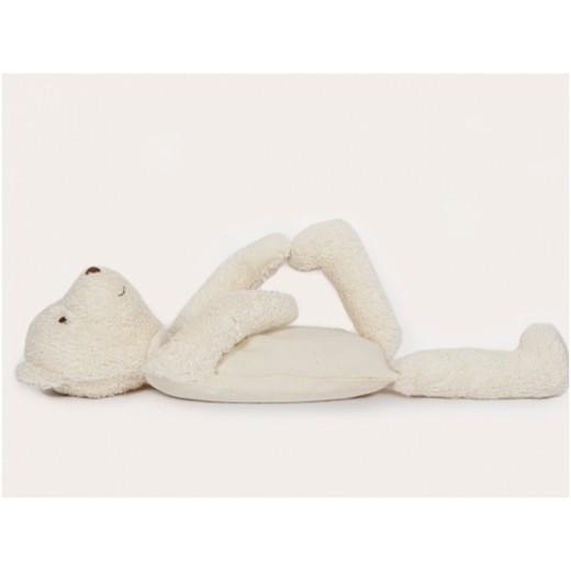 MinMin Copenhagen Teddy Bear white wellness toy-01