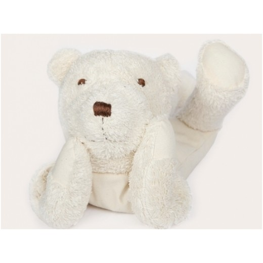 MinMin Copenhagen Teddy Bear white wellness toy-01