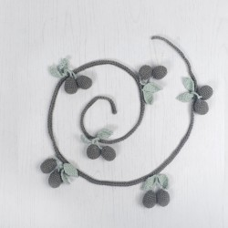 Shirley Bredal Cherry Garland grey 120 cm-20