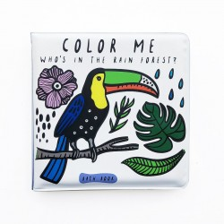 wee gallery Bath Book Colour Me Rainforest-20