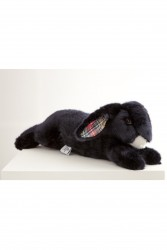 Pamplemousse PELUCHES MARTIN LE LAPIN 35 cm marine checkerd-20