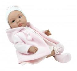 Asi dukke Leonora rosa duffel coat 46 cm-20