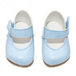 Asi dukkesko lys blå str. 36-40 cm-20