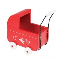 Rex London Trædukkevogn mini rød-20