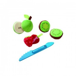 HABA Stofmad frugtmix m/kniv-20