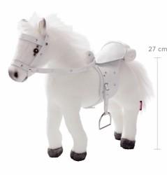 Götz Hest m/lyd, sadel og hovedtøj 27 cm-20