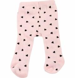 Götz Strømpebukser pink/m hjerter-20