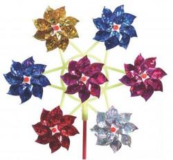 imagetoys Vindmølle med blomster metallic-20