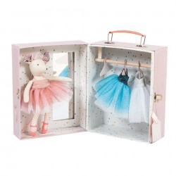 Moulin Roty Ballerina mus i kuffert-20