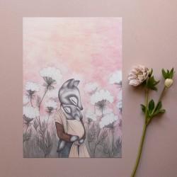 Kajsa Wallin Print Queen Annes Lace 30x40 cm-20